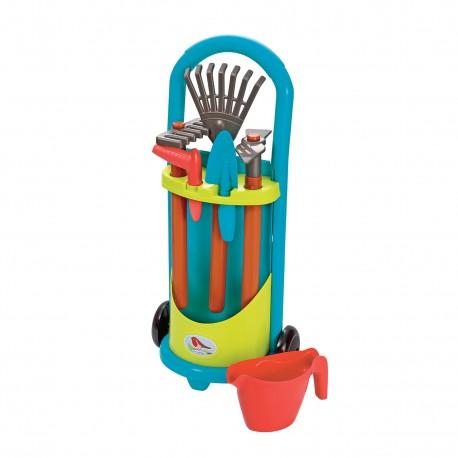 ECOIFFIER Wózek Małego Ogrodnika z Narzędziami