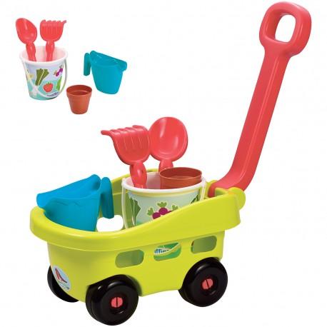 ECOIFFIER Wózek Narzędzia Ogrodowe Dla Dzieci
