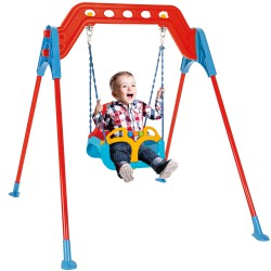 WOOPIE Huśtawka 3w1 do Ogrodu Domu Pojedyńcza dla Dzieci