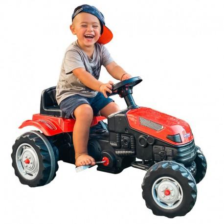 WOOPIE Traktor na Pedały Czerwony
