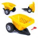 WOOPIE Przyczepka ACTIVE TRAILER Żółta 35 kg