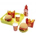 Ecoiffier Zestaw Fast Food 26 Akc.