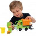 Ecoiffier Ciężarówka Śmieciarka Segregacja Śmieci