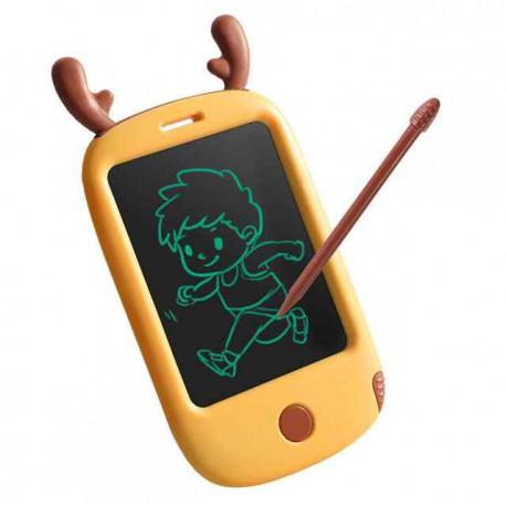 WOOPIE Smartfon Mobilny Telefon dla Dzieci do Rysowania Tablet Znikopis Łoś