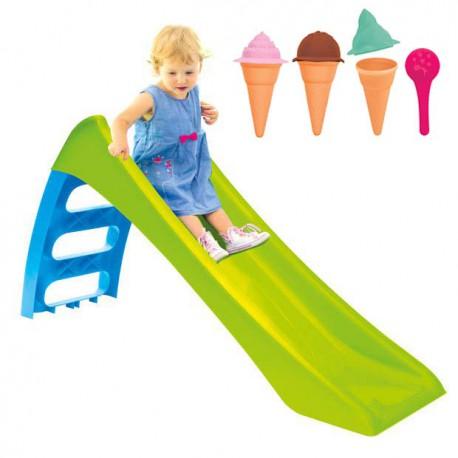 WOOPIE Zjeżdżalnia Fun Slide Zielona