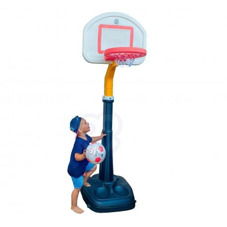 WOOPIE Koszykówka 15-stopniowa regulacja 280 cm