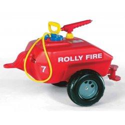 Rolly Toys Przyczepa cysterna Straż pożarna