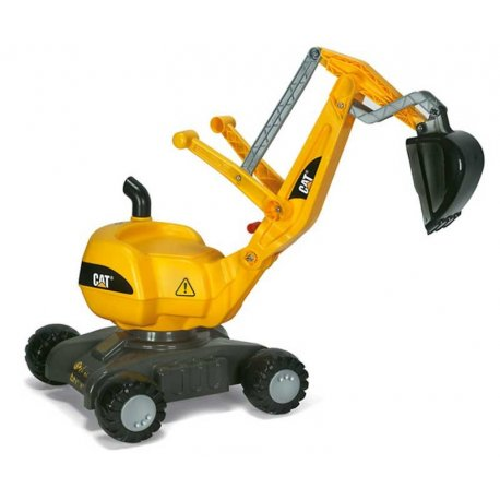 Rolly Toys Koparka CAT żółta obrotowa