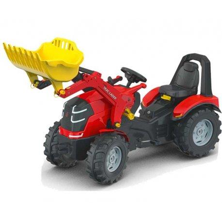 Rolly Toys Wielki Traktor X-Track z Łyżką Ciche Koła PREMIUM